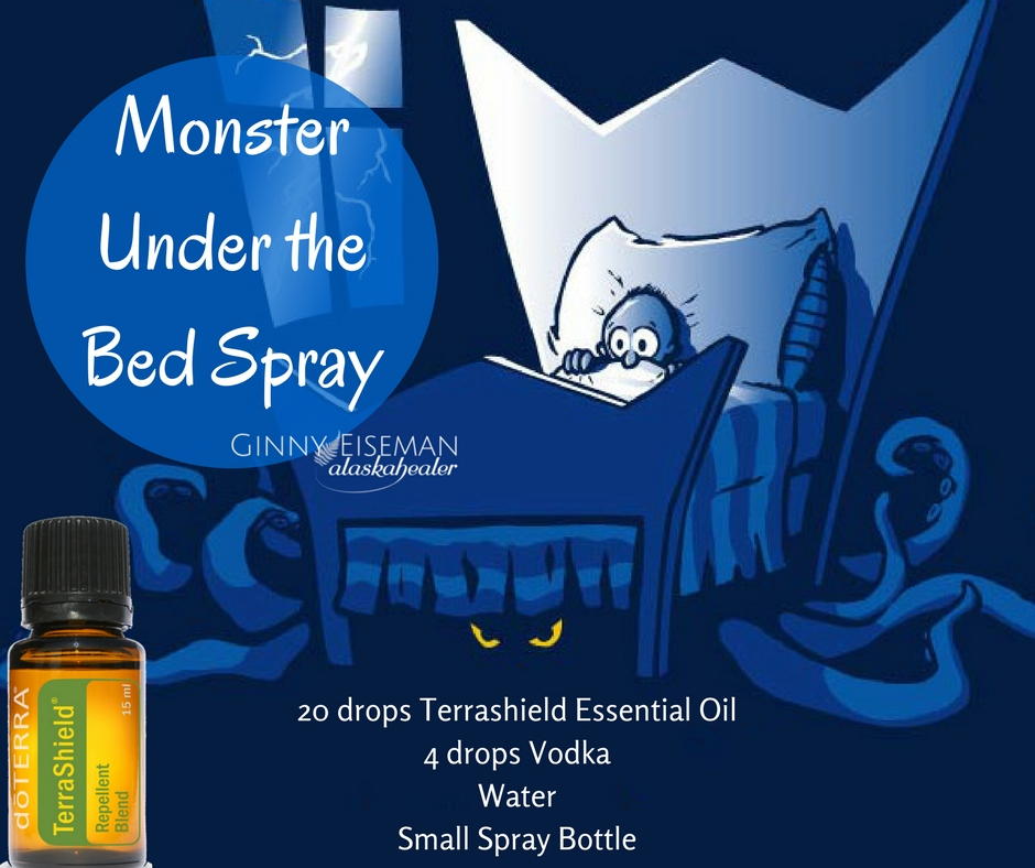 Monster Under the Bed Spray alaskahealer.com