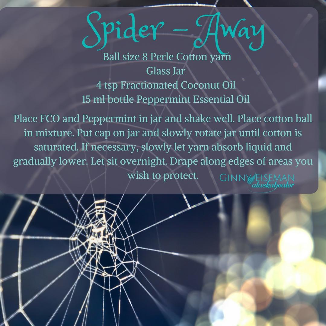 Spider away alaskahealer.com