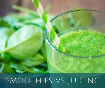 Smoothies! Smoothies vs Juicing - Find out more...